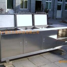 工业用多槽多功能超声波清洗机
