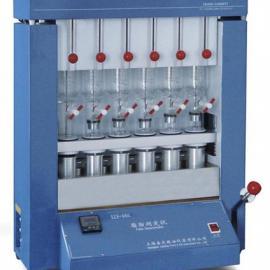 SZF-06G脂肪测定仪(水浴锅)/嘉定粮油脂肪仪