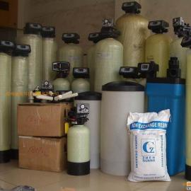 软水处理装置盐桶、树脂罐,软化树脂