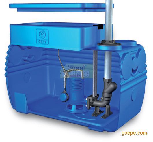 集�b箱式�赡崽仉p泵污水提升器