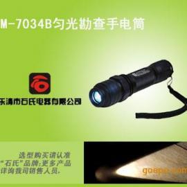 3W LED匀光勘查电筒,便携式现场勘查灯
