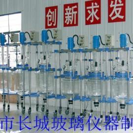 双层玻璃反应釜,双层玻璃反应器