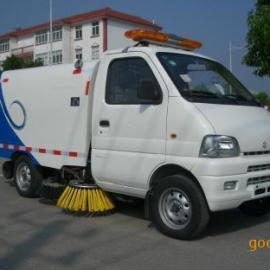 长安小型扫路车 长安小型道路清扫车配件|垃圾箱容积1立方