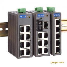 MOXA工业以太网交换机 EDS-208