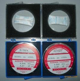 3-50-S16库仑标准片/美国KOCOUR镀层标准片