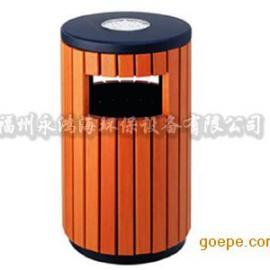 木条垃圾桶户外垃圾桶