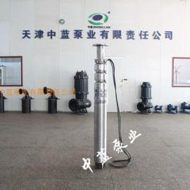 深井潜水轴流泵用于矿山抢险