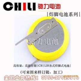 广东大量生产扣式电池 带焊脚电池