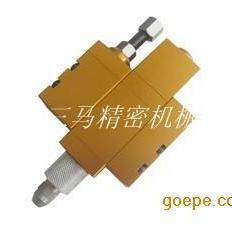 定量耐高压顶针式黄油点胶阀SM-D30