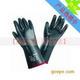 霍尼韦尔 斯博瑞安/巴固 Sperian 氯丁橡胶防化 防护手套 2095025