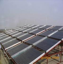 山西大同太阳能热水工程,集热工程
