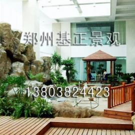提供服务生态园、庭院、屋顶花园设计施工
