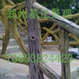 郑州仿木栏杆、塑木