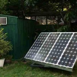 太阳能电站,小型太阳能光伏电站