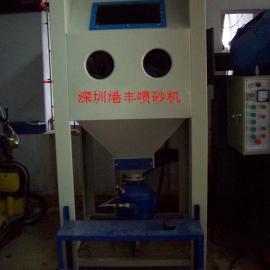 港丰高压手动箱式喷砂机 定做非标高压手动箱式喷砂机