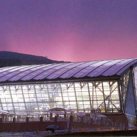 篮球馆膜结构屋盖