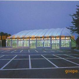 专业膜结构羽毛球场
