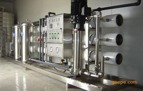 全自动工业电镀纯水设备