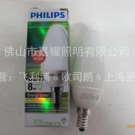 飞利浦8W柔光椒型节能灯