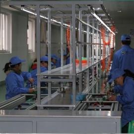 中山佛山广州武汉差速链生产线 倍速链线