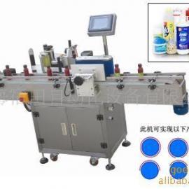 供应上海全自动圆瓶贴标机(带打码)