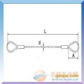 钢绳成套索具||防旋转钢丝绳||压制钢丝绳扣