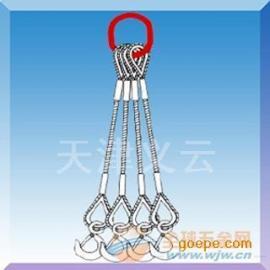 专业生产压制钢丝绳成套索具@压制钢丝绳成套吊索 厂家