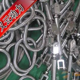郑州/武汉/天津地区供应浇注索具,钢丝绳浇铸索具【开式索节/闭&