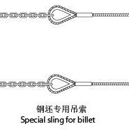 钢坯吊具(钢绳/链条组合形式)钢坯专用吊索,钢坯专用链条索具