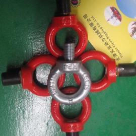 天津德标吊环螺丝,电机吊环,吊环螺钉,吊环型吊杆,义云索具公