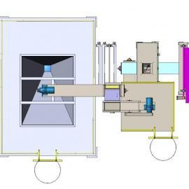 钢管内壁抛丸机、钢管内壁表面强化机