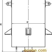 JB-ZX型蒸汽、空气放空消声器