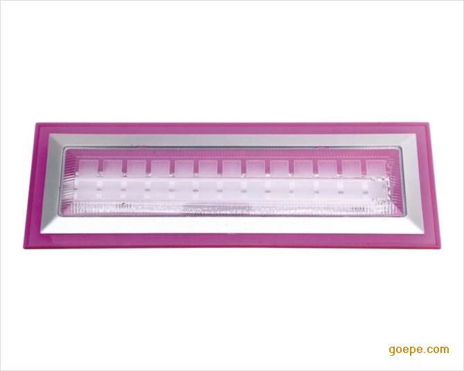 w66长方形粉红色边框厨卫灯