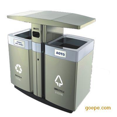全新环保垃圾桶,果壳箱图片