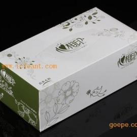 心相印D130商用墨绿/咖啡盒装面巾纸