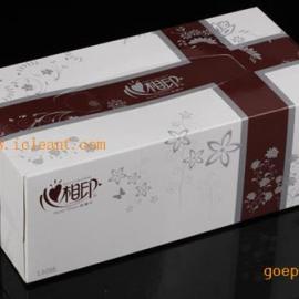 心相印D200商用墨绿/咖啡盒装面巾纸