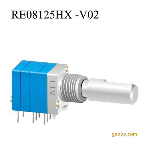 旋转编码器厂家直销 re1103插件旋转编码开关 密封高品质音量电位器