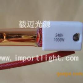 镀金加热管,镀金红外线灯管,红外线黄金管