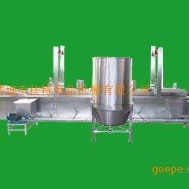 电加热油炸机/油炸机价格/油炸机流水线/油水混合油炸机