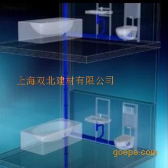 酒店HDPE同层排水,卫生间同层排水