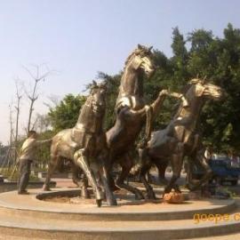八骏雕塑,东莞奔马雕塑报价,广东骏马雕塑,八骏雕塑报价