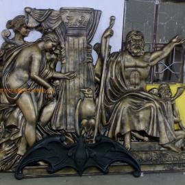 酒店浮雕,会所雕塑,罗马柱价格,酒店雕塑,天花吊顶雕塑
