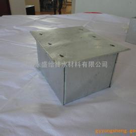 河南永盛【专业生产】人防防护密闭接线盒 防水套管 呼唤按钮