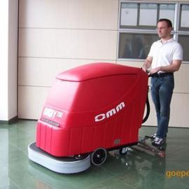 山东洗地机手推地面保洁车机器461电瓶清洗吸干设备清洁工具