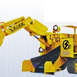 大坡度扒渣机,液压巷道扒渣机,襄工机械LW-120型扒渣机