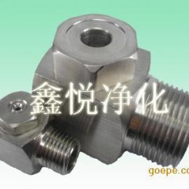 厂家直销空心锥形金属喷嘴 金属喷咀 东莞拐角喷头生产商