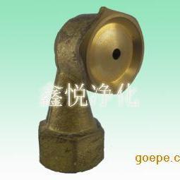供应天津空心锥形喷嘴 黄铜喷咀 天津烟斗喷头生产商