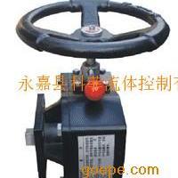 LH型手动操作机构(气动阀门蜗轮)
