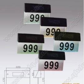 甘肃省兰州市太阳能门牌灯,太阳能装饰灯