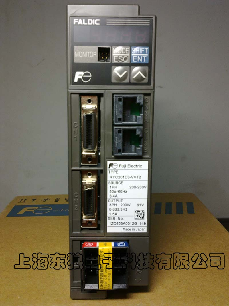 富士伺服电机ryc201d3-vvt2